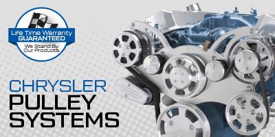 Chrysler / Mopar / Dodge Small Block and Big Block V-Belt and Serpentine Kits