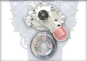 CVF Ford 4 Bolt Crankshaft Pulleys