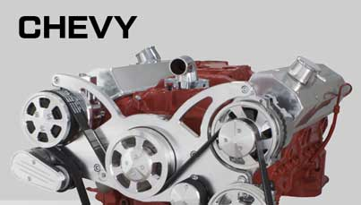 Chevrolet Serpentine Kits, V-Belt Kits and Engine Accessories