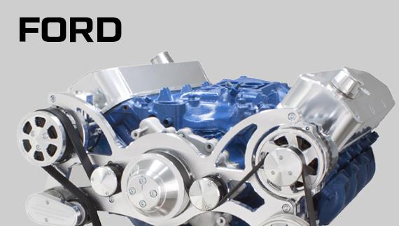 Ford Serpentine Kits, V-Belt Kits and Engine Accessories