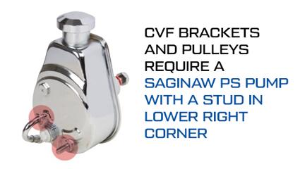 Saginaw Power Steering Pump - Stud Lower Right