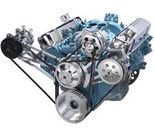 Pontiac V8 Engine V Belt Systems