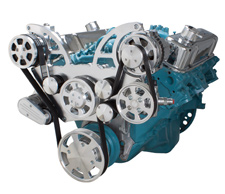 Pontiac V8 Engine All Inclusive Serpentine System