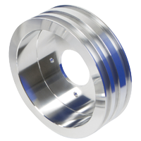 Pontiac Power Steering, Crankshaft and Water Pump Pulley Guide